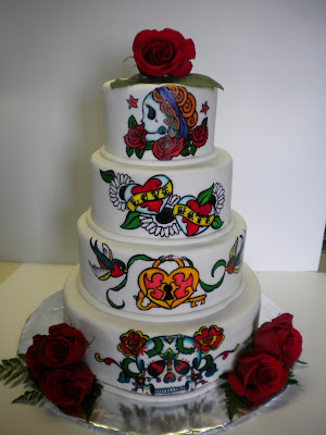 Tattoo Wedding Cake Source ShadeeGray15