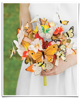 Butterfly Wedding Bouquet