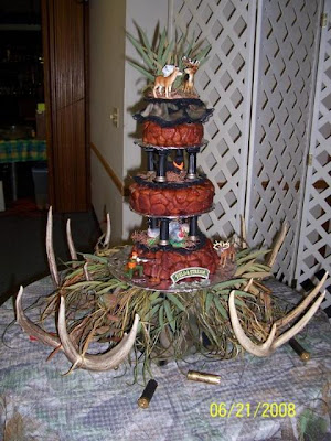 The Deer Hunter Groom's Cake