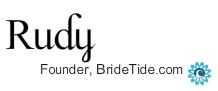 rudy bridetide