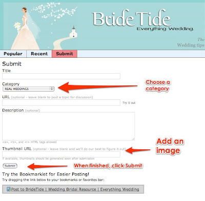How To Submit Articles To BrideTide
