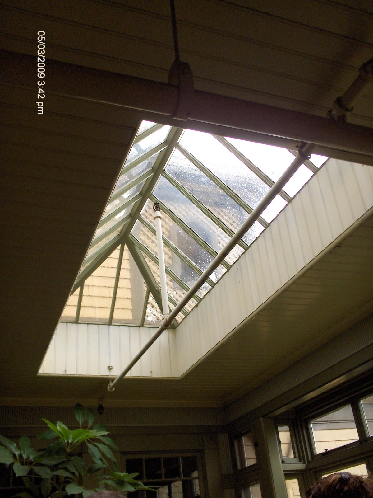 Csi architecture special edition the winchester for Large skylight