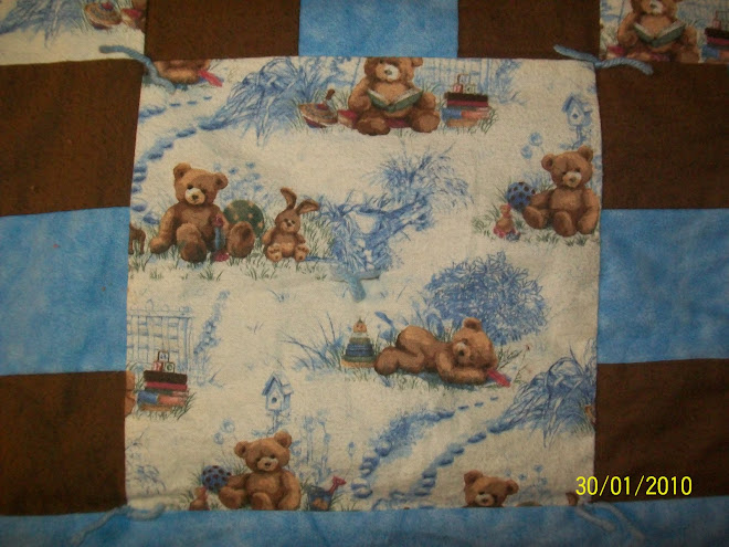 Flannel Bears....soooo soft!