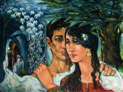 لوحات فنان فلسطين اسماعيل شموط