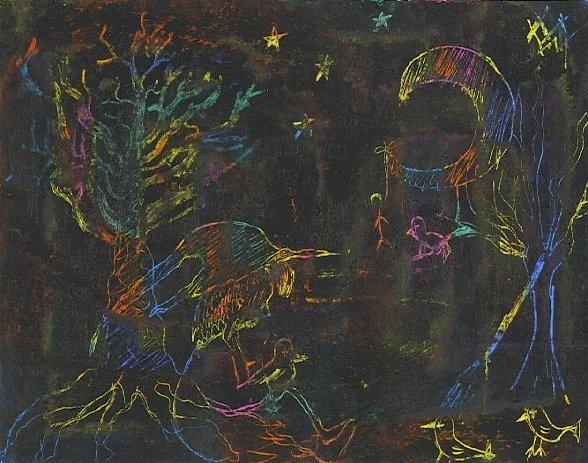 En una ocasión... Madam Mim lo intentó con el Arte y esto es lo que le salió...
