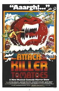Filme Poster O Ataque Dos Tomates Assassinos DVDRip RMVB Legendado