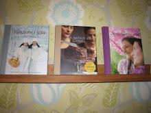 Favoritböcker i kokbokshyllan...