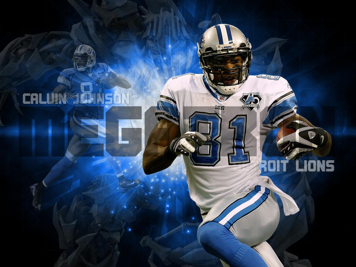 Johnson Calvin wallpaper, Detroit Lions wallpaper, nfl wallpaper