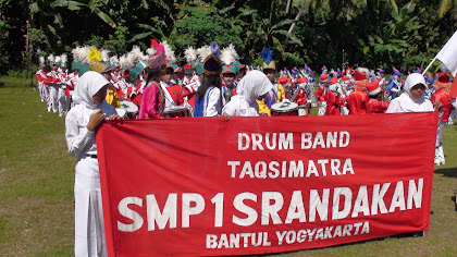 Drumband SMP 1 Srandakan