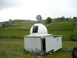 Cu bicicletele, la Observatorul Astronomic Marisel