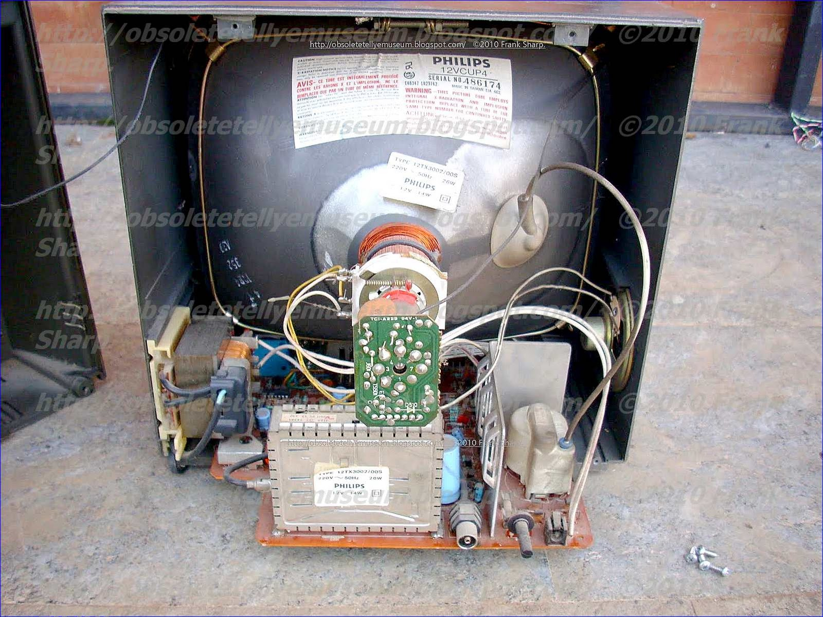 Obsolete Technology Tellye !: PHILIPS 12TX3002 /00S CHASSIS TX3 ...