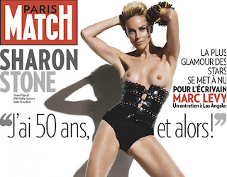 sharon stone french magazine