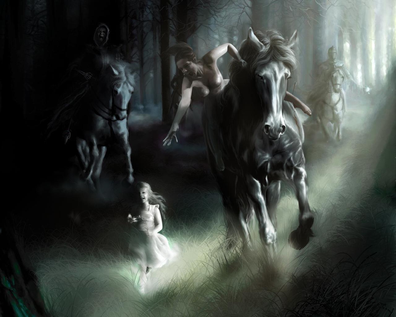 Popular   Wallpaper Horse Steampunk - Fantasy+Angel-05  Gallery_346528.jpg