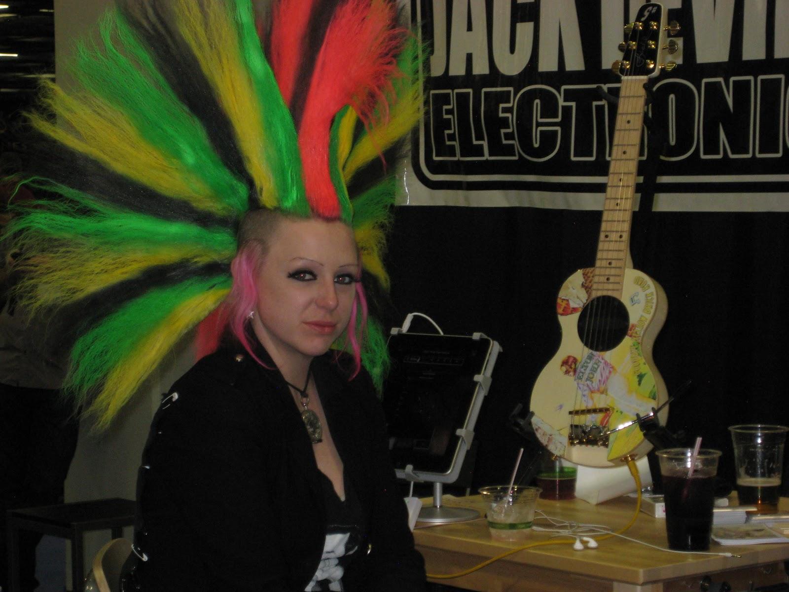 reappearance of jimi hendrix at winter namm 2011