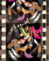 Vintage Lady Shoes in Vector Gallery