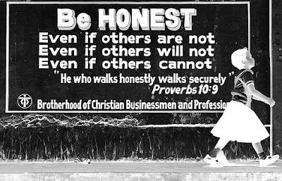 Jujur sebagai peran kita sebagai manusia