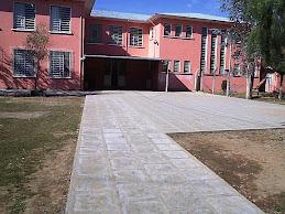 Prédio da Escola.