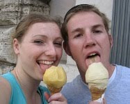 Ice creams in Rome - 2007