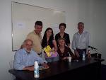 Amigos escritores na Feira do Livro de Porto Alegre