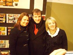 Iara Volpato e o músico Jeann Branndão