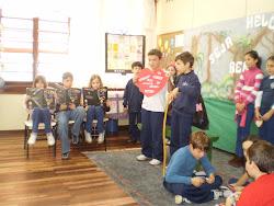 Apresentações dos alunos da Escola 7 de Setembro