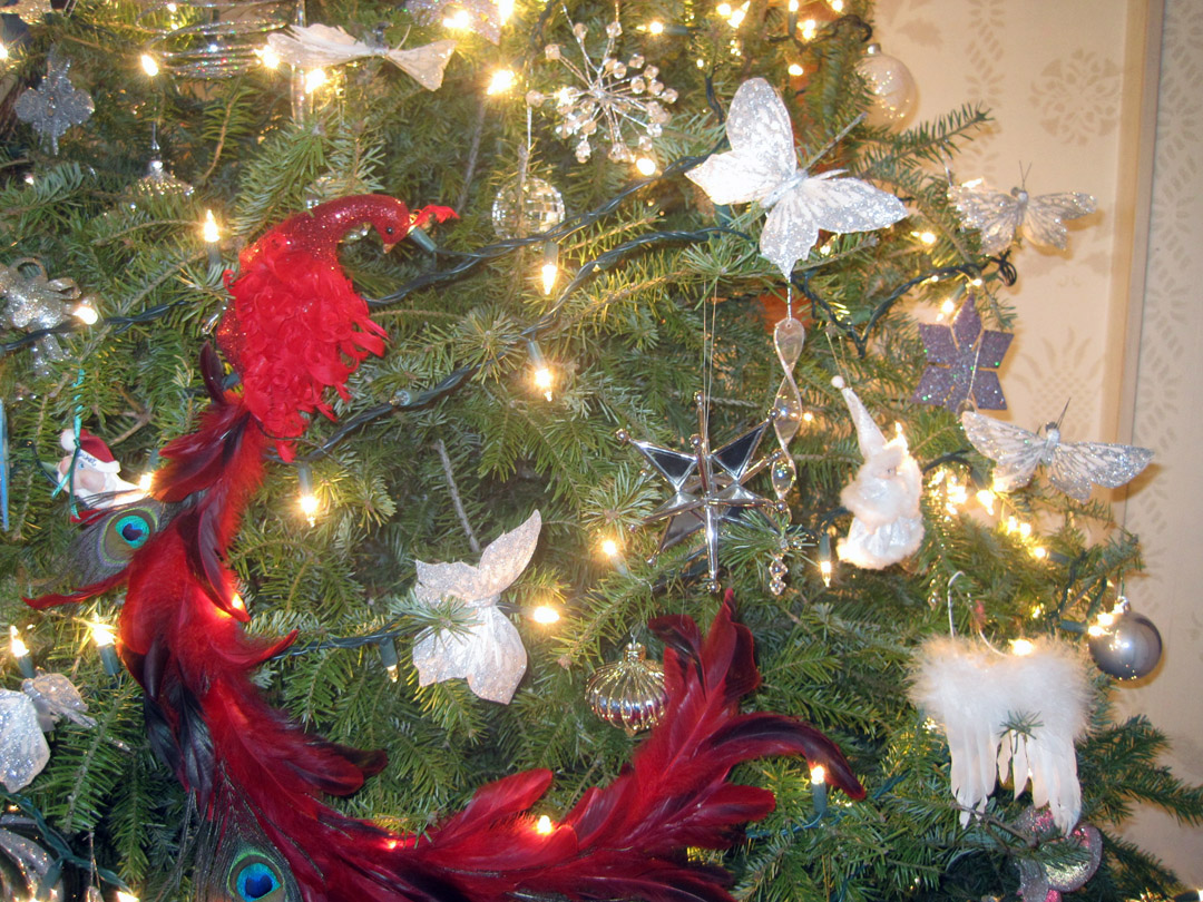 a rolling crone confessions of a christmas tree nut the sequel - Angel Hair Christmas Decoration