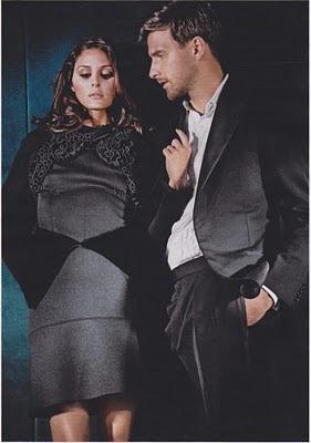 Olivia Palermo & Johannes Huebl para Elle Alemania