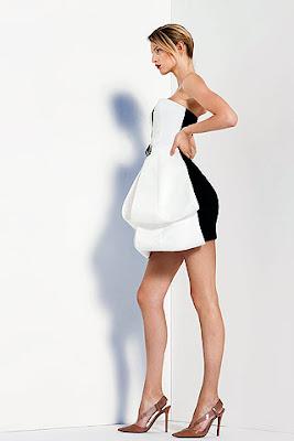 Lea Michele de Giorgio Armani