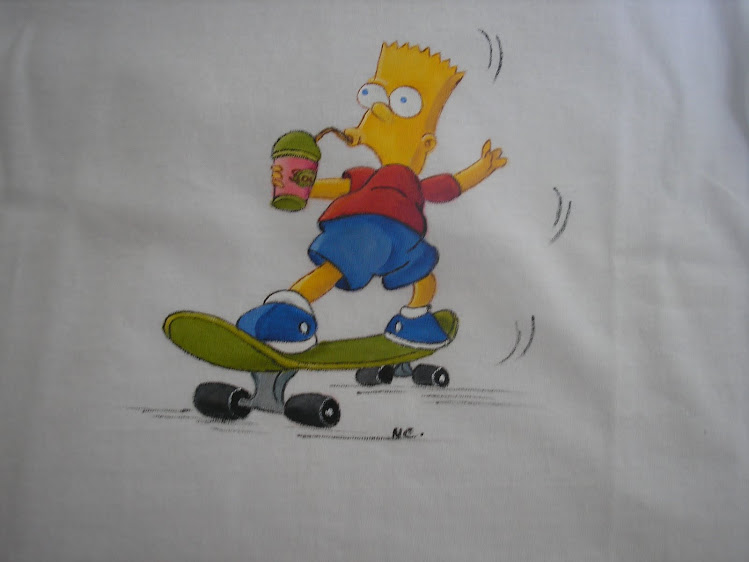 T-shirt do Simpson