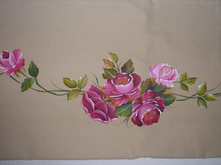 Lençois com rosas