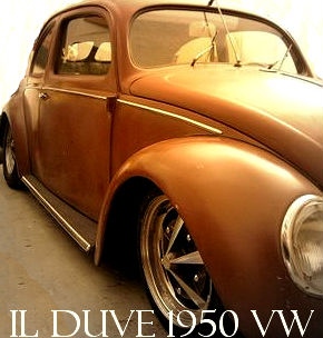 Il DUVE - 1950 VW Split Beetle - Volkswagen Maggiolino