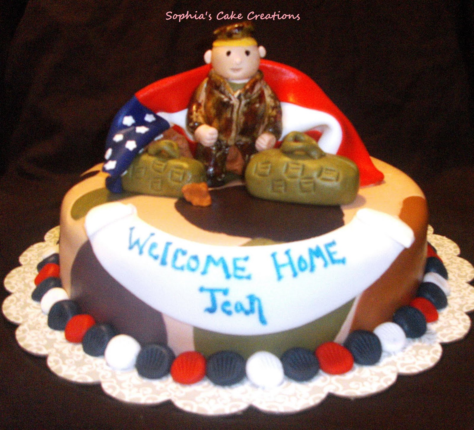 Welcome Back Home Cakes