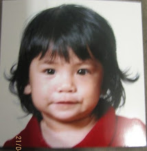 Mia's First Visa Photo@10month
