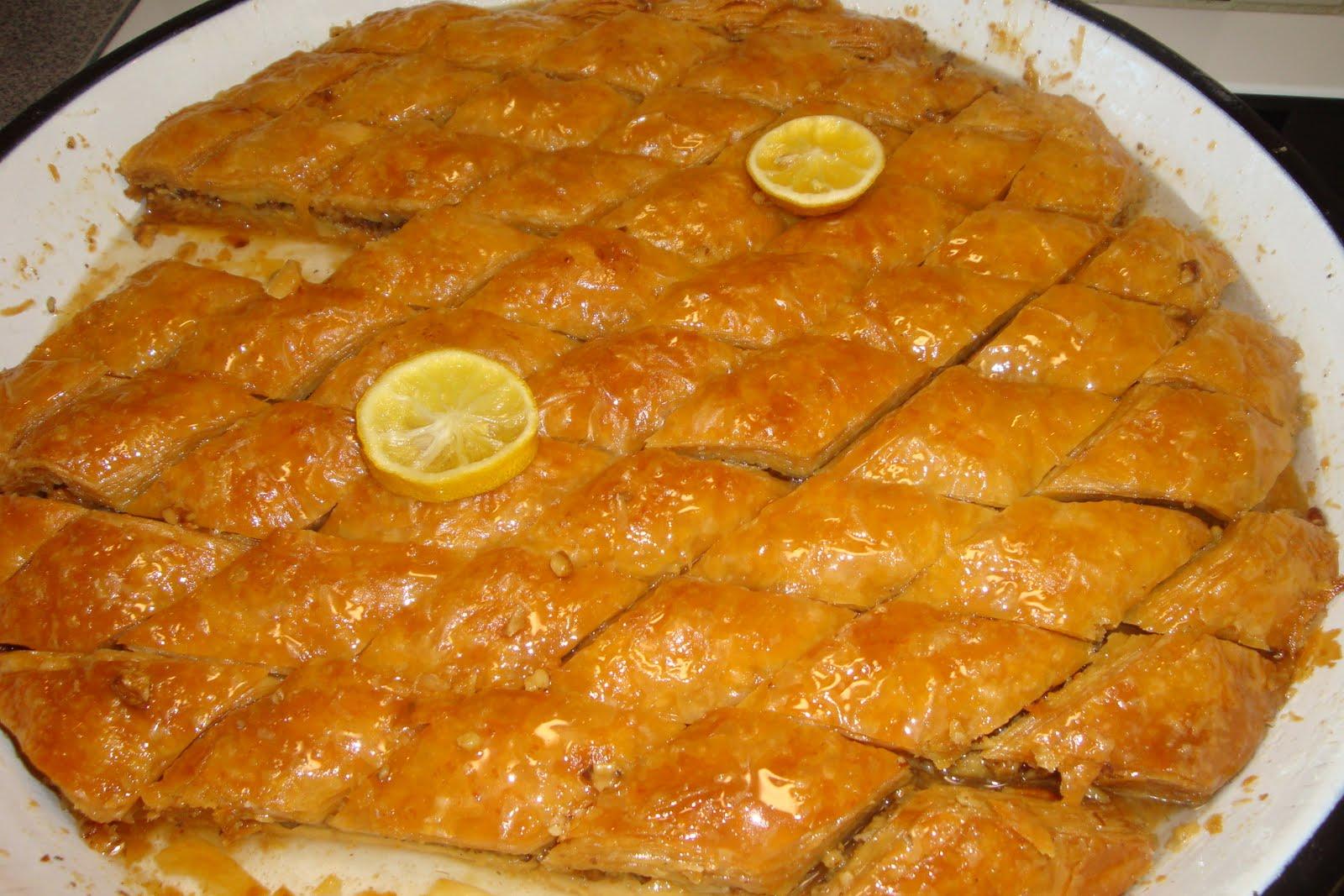 Nana Minka: baklave receta e Hides
