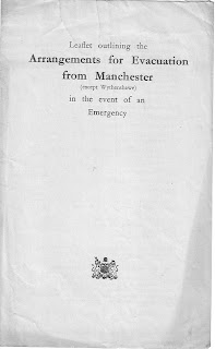 Arrangements for evacuation from Manchester (except Wythenshawe) in the event of an emergency,August 1939,Second World War, World War Two, World War 2, WWII, WW2, History, Home Front, Manchester, Blitz, Air raid, Evacuation