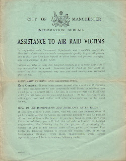 Assistance to air raid victims,City of Manchester, Information Bureau,Second World War, World War Two, World War 2, WWII, WW2, History, Home Front, Manchester, Blitz, Air raid, Evacuation