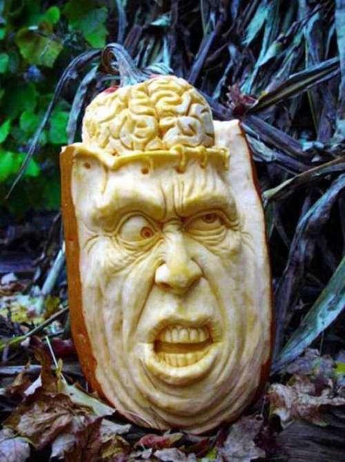 Strangedaze Expert Pumpkin Carving 101 Blowing The Wad