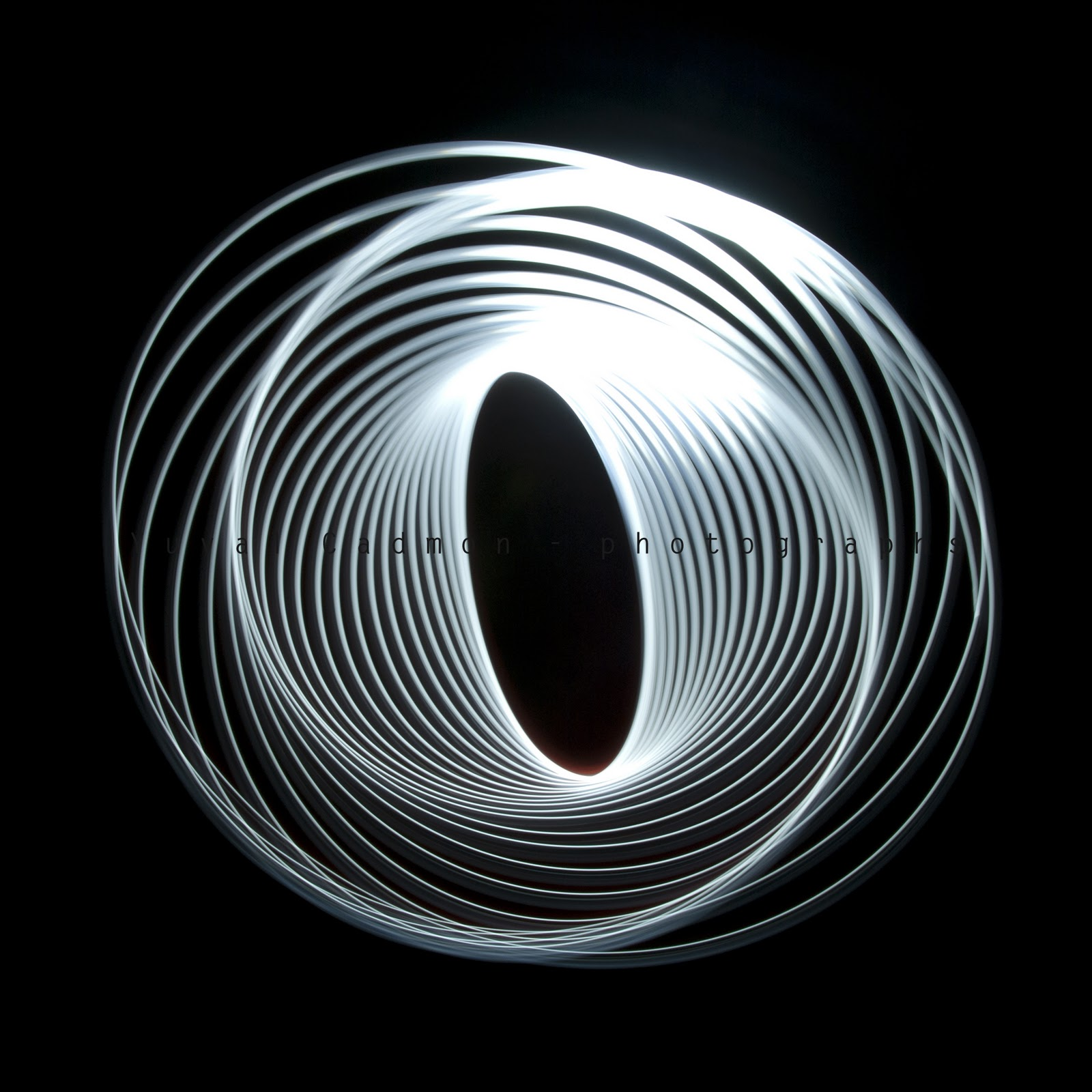 Traces of Light - Yuval Cadmon photography: Spiral traces ...