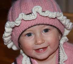 Baby Hat Elinka (New Pattern)