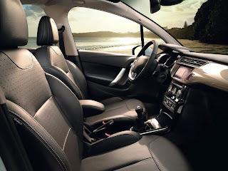 New 2010 Citroen C3 interior