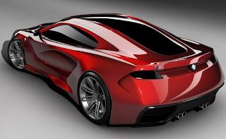 New BMW M Supercar Concept