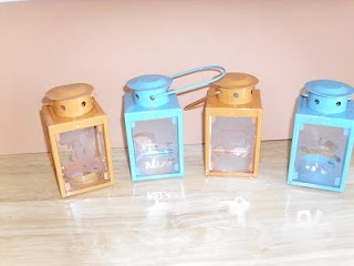 Say anything crafts dollar bin michaels mini lanterns for Michaels crafts hours today