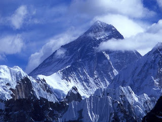 Mount Everest as seen from Nepal side