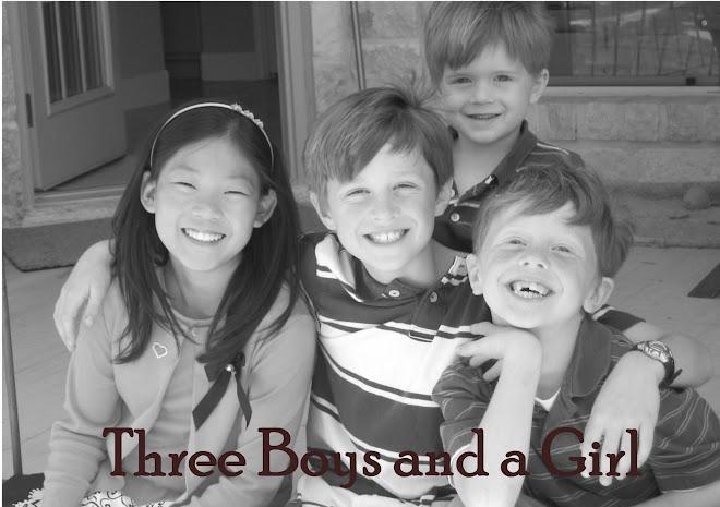 Three Boys and a Girl