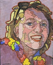Paula Cravens Different Strokes from Different Folks portrait of me end of year challenge 2008