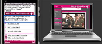 VDO service for HTC Desire T-mobile UK