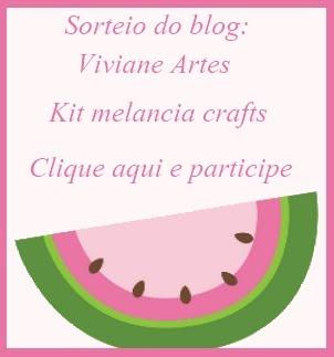 Sorteio no blog Viviane Artes