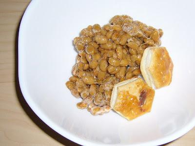 納豆にパイの実