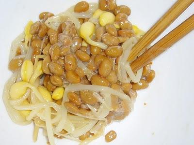 納豆に七味もやし感覚