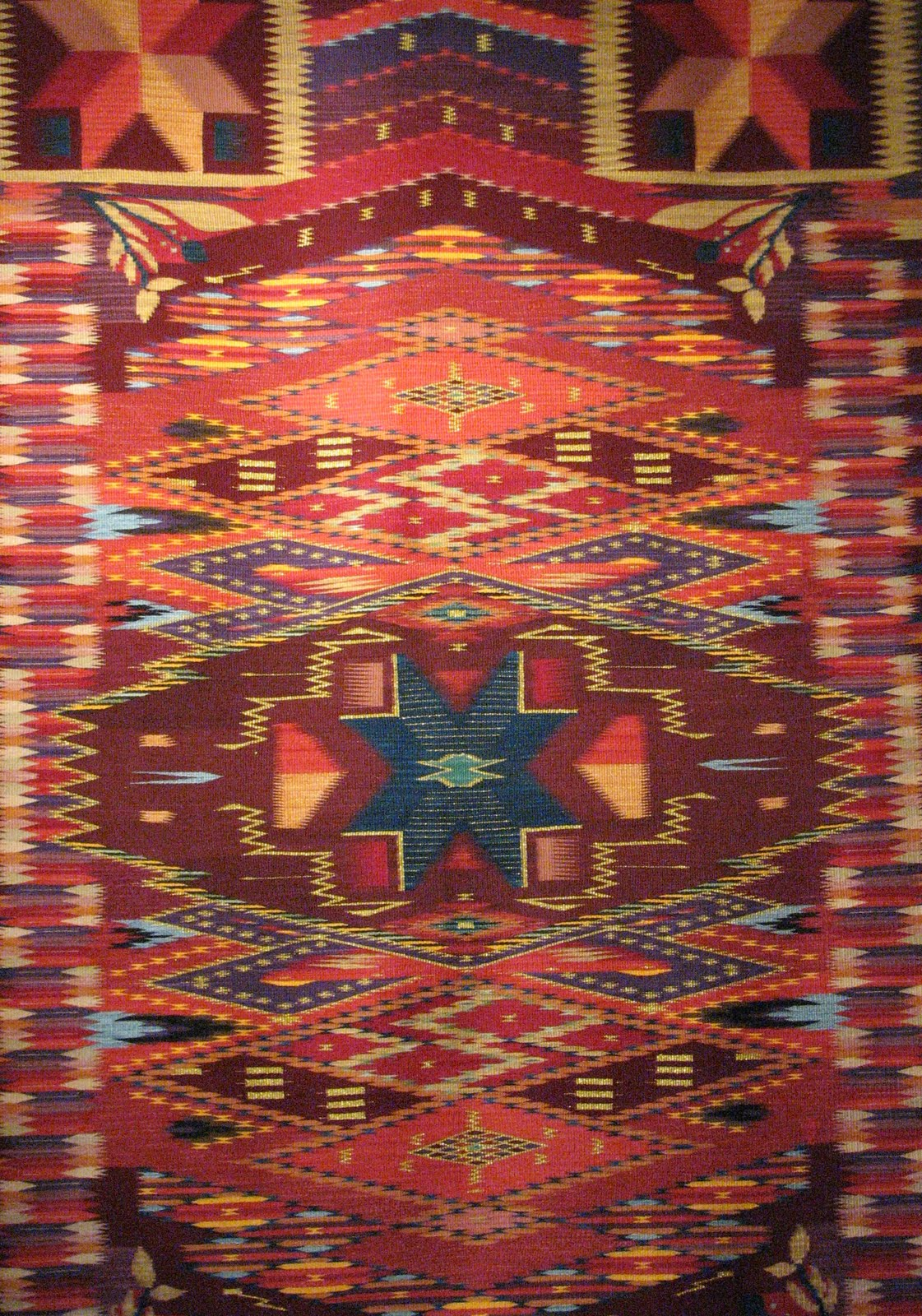 My Santa Fe Kate Weaving Chimayo Rugs